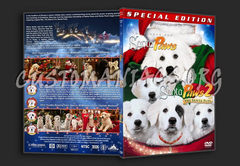 The Search for Santa Paws / Santa Paws 2: The Santa Pups Double