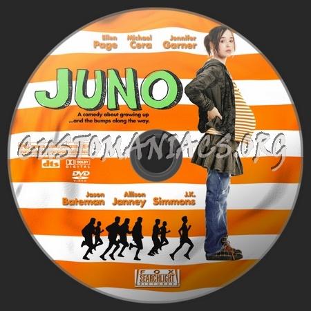 Juno dvd label