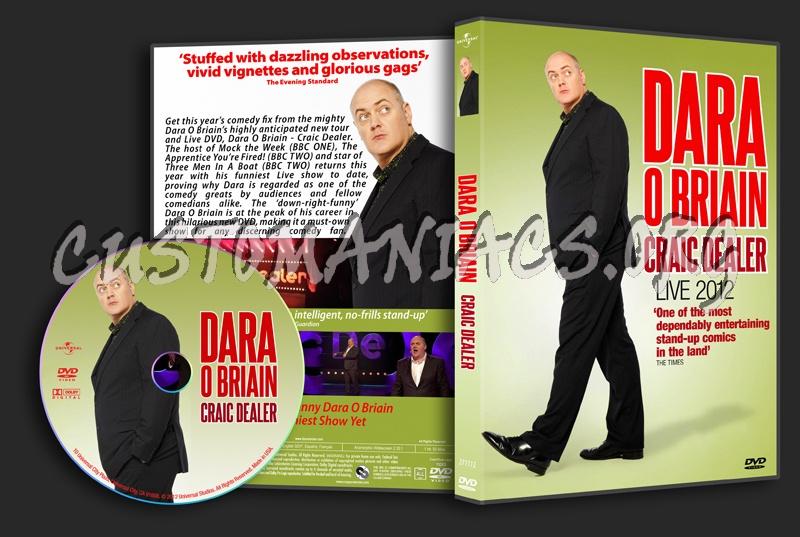 Dara O'Briain Craic Dealer dvd cover