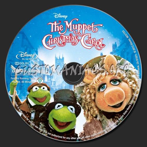 The Muppet Christmas Carol: The Muppet Christmas Carol Blu-ray Label
