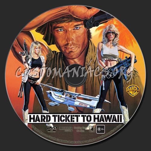 Hard Ticket To Hawaii Dvd Label