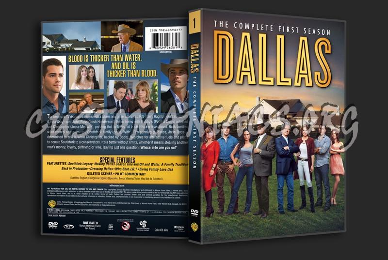 Dallas Season 1 dvd cover
