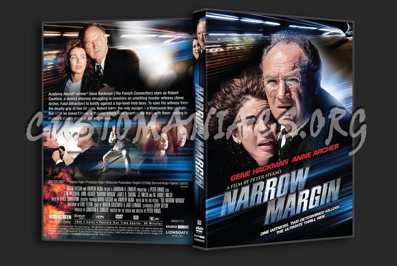 Narrow Margin dvd cover