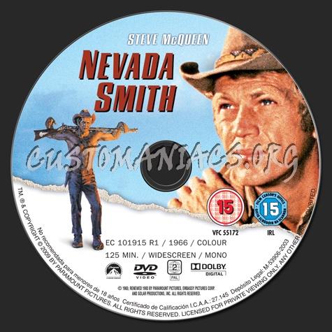 Nevada Smith dvd label