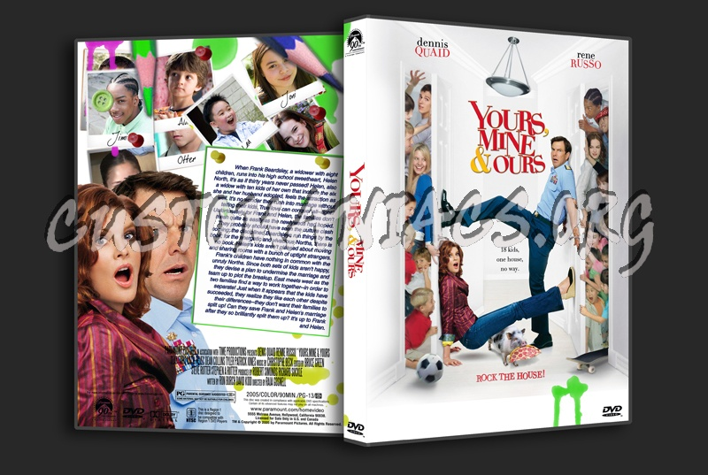 Yours, Mine & Yours dvd cover