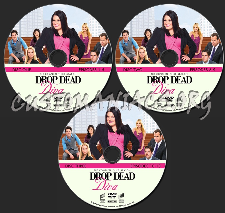 Drop dead diva season 3 dvd label dvd covers labels by customaniacs id 182634 free - Drop dead diva dvd ...