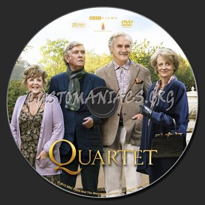 Quartet dvd label