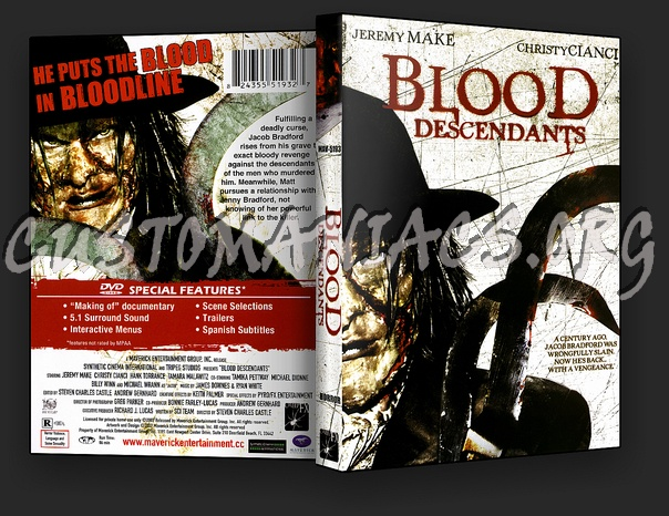 Blood Descendants dvd cover