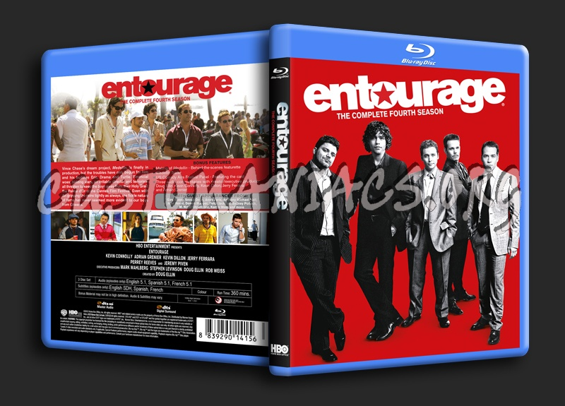 Entourage season 4 blu ray cover dvd covers labels by Entourage online free