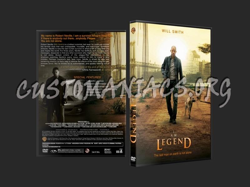 I Am Legend dvd cover