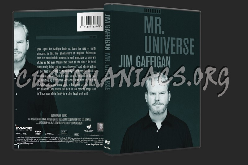 Jim Gaffigan: Mr. Universe dvd cover