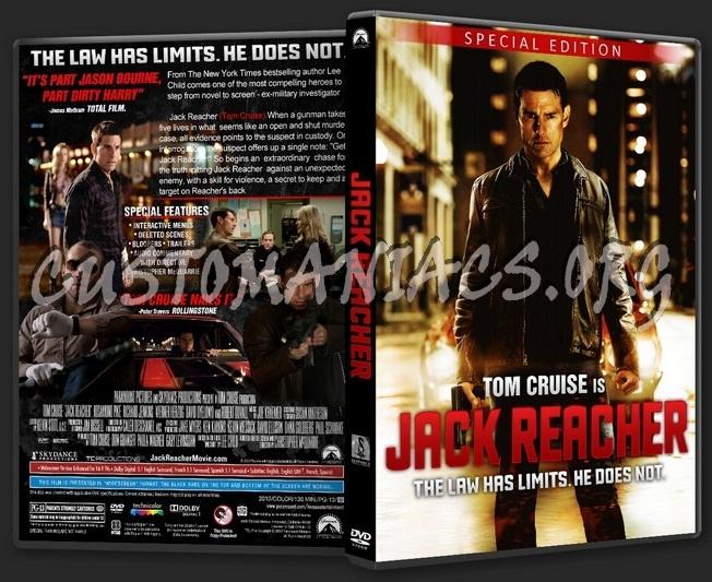 Jack Reacher dvd cover