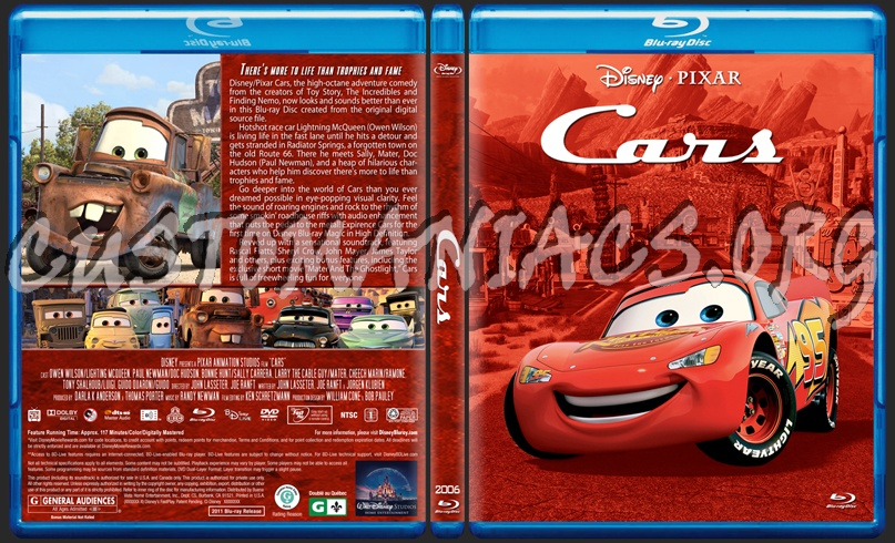 Cars Blu Ray Cover Dvd Covers Labels By Customaniacs Id