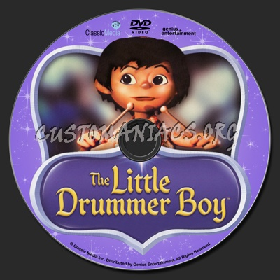 The Little Drummer Boy dvd label - DVD Covers & Labels by ...