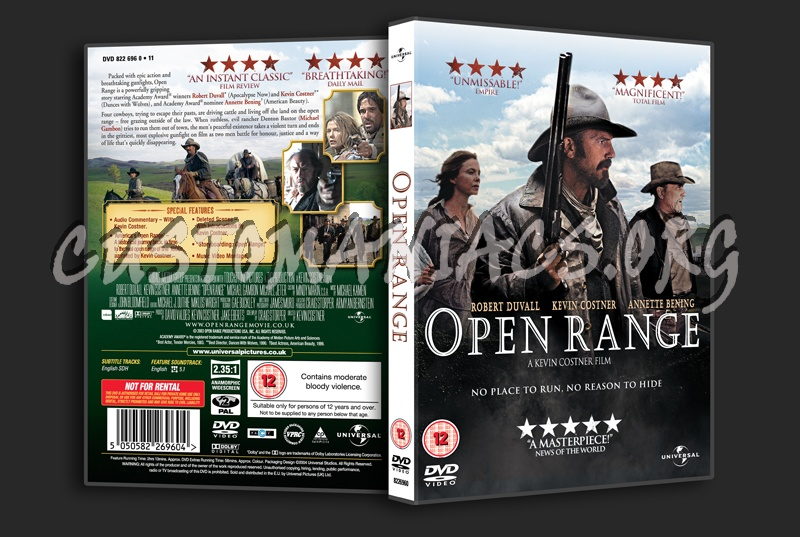 open range dvd cover dvd covers labels by customaniacs id 183130 free download highres dvd. Black Bedroom Furniture Sets. Home Design Ideas