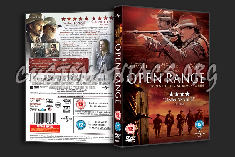 open range dvd cover dvd covers labels by customaniacs id 183132 free download highres dvd. Black Bedroom Furniture Sets. Home Design Ideas