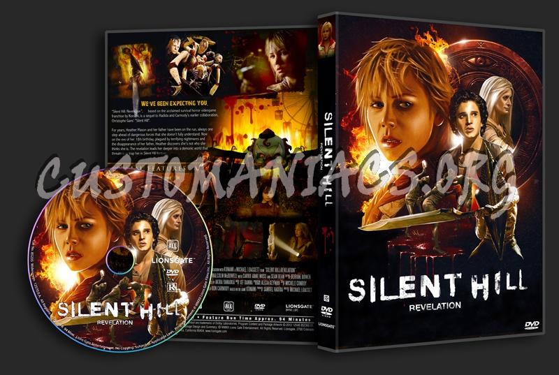 Silent Hill Revelation Dvd Cover Dvd Covers Labels By Customaniacs Id 183349 Free Download Highres Dvd Cover