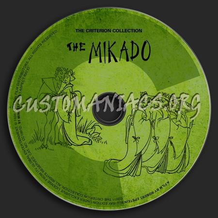 559 - The Mikado dvd label