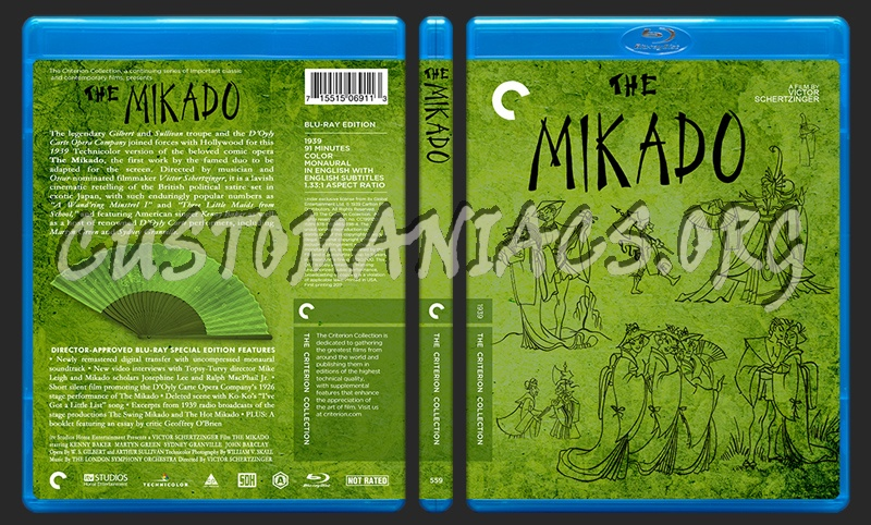 559 - The Mikado blu-ray cover