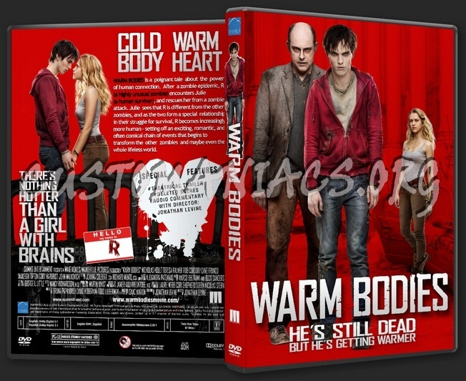 Warm Bodies dvd cover