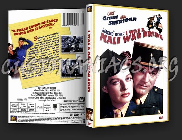I Was a Male War Bride dvd cover