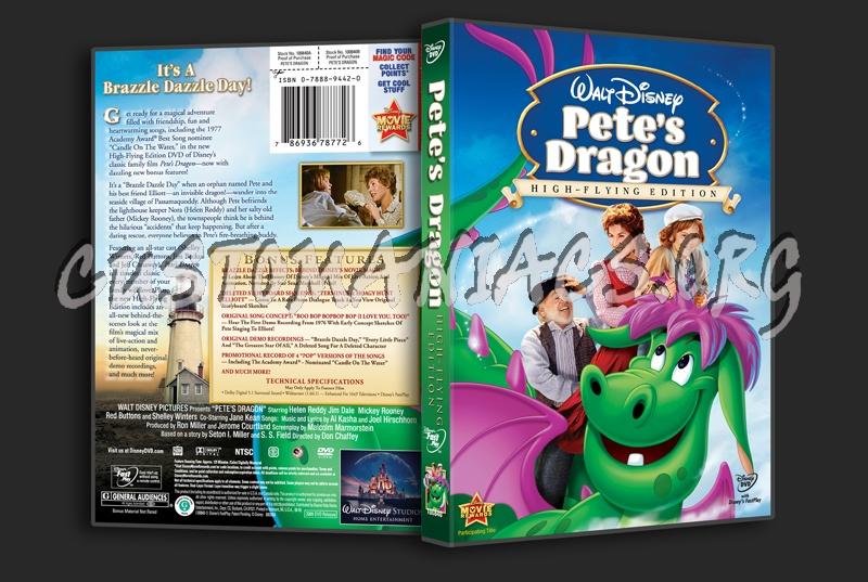 Pete's Dragon dvd cover