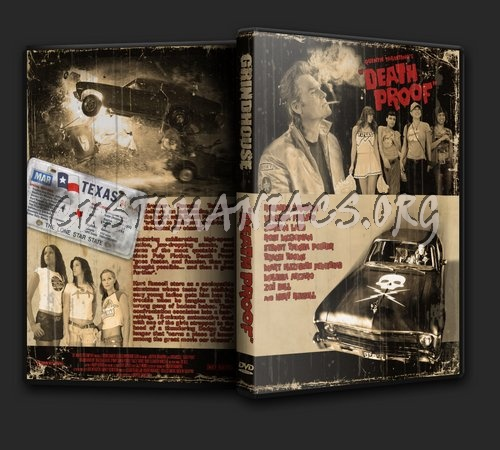 Death Proof dvd cover