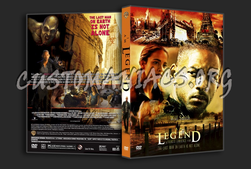 I am Legend dvd cover