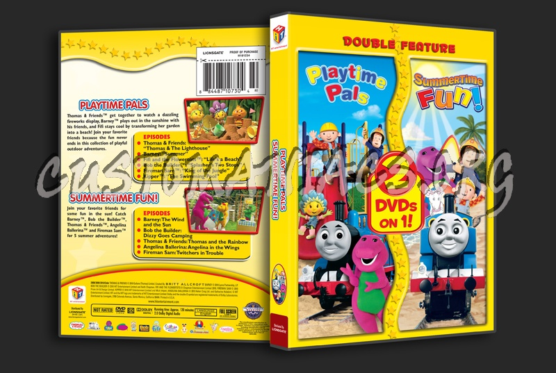 Hit Favorites Playtime Pals: Playtime Pals / Summertime Fun! Dvd Cover