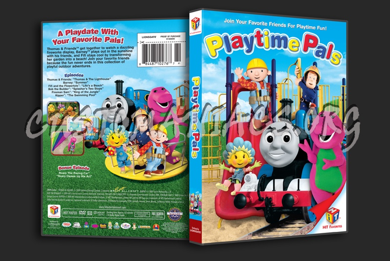 Hit Favorites Playtime Pals: DVD Covers & Labels By