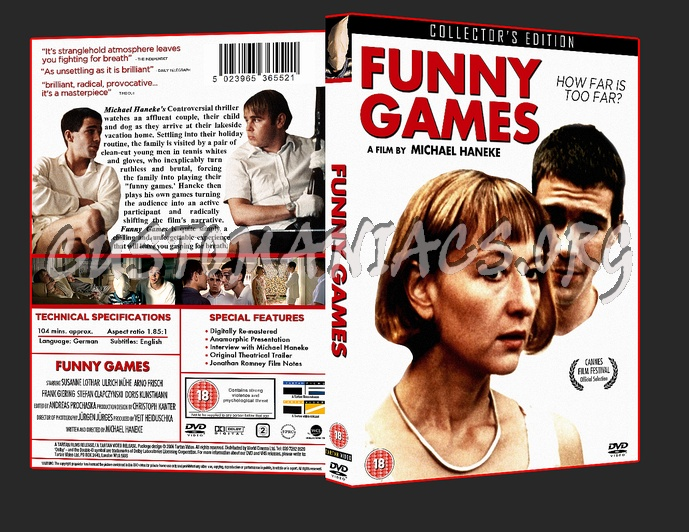 Funny Games dvd cover