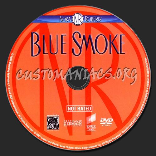 Blue Smoke dvd label