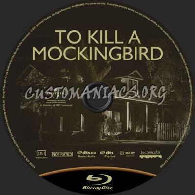 To Kill a Mockingbird blu-ray label