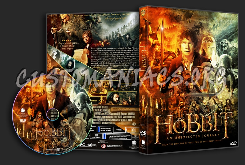 The Hobbit: An Unexpected Journey dvd cover