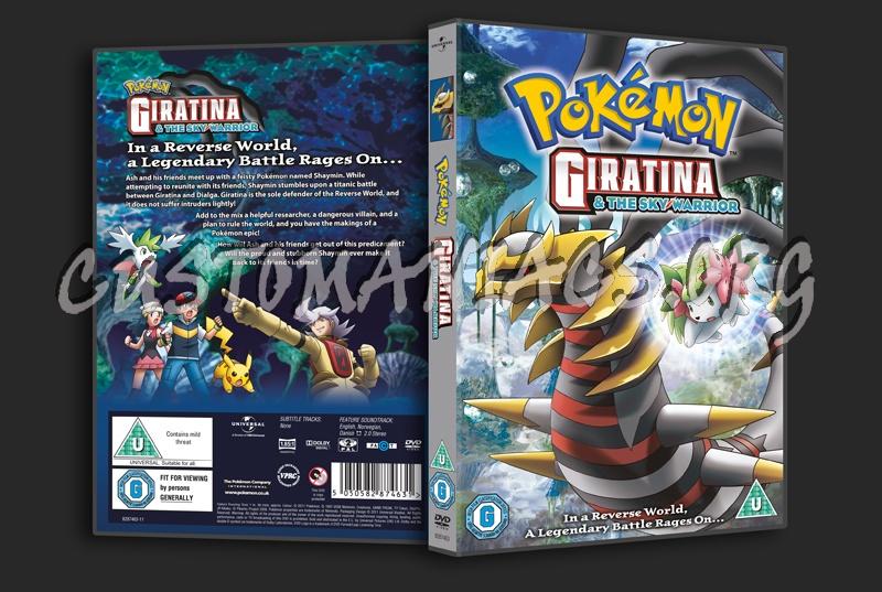 Pokemon Giratina The Sky Warrior Dvd Cover Dvd Covers