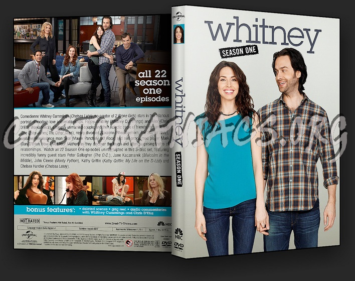 Whitney - Season 1 dvd cover