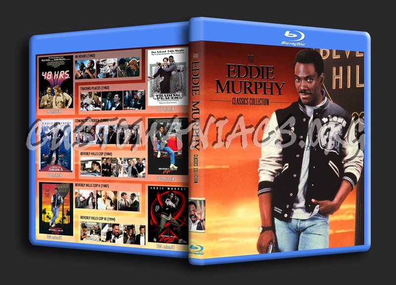Eddie Murphy Classics Collection blu-ray cover