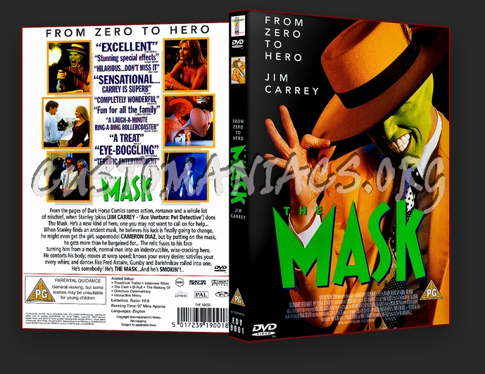 The Mask dvd cover