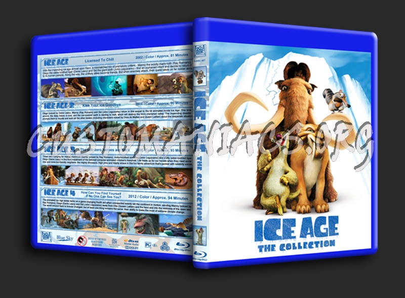 Ice Age: The Collection blu-ray cover