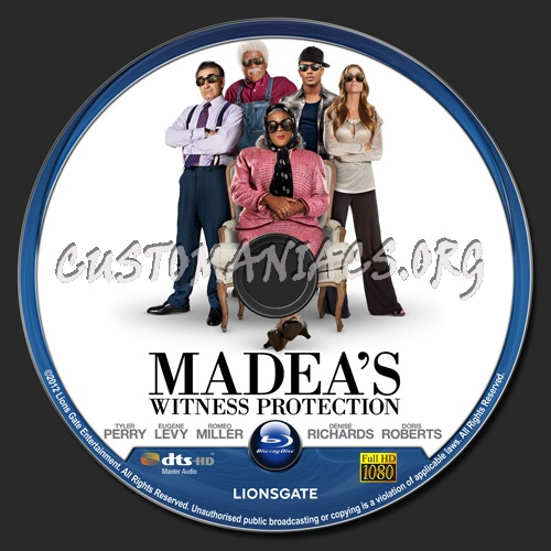 madeas witness protection dvd cover - photo #8