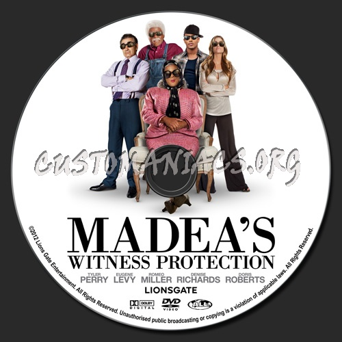 madeas witness protection dvd cover - photo #6
