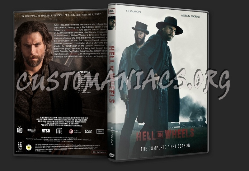 Hell on Wheels dvd cover