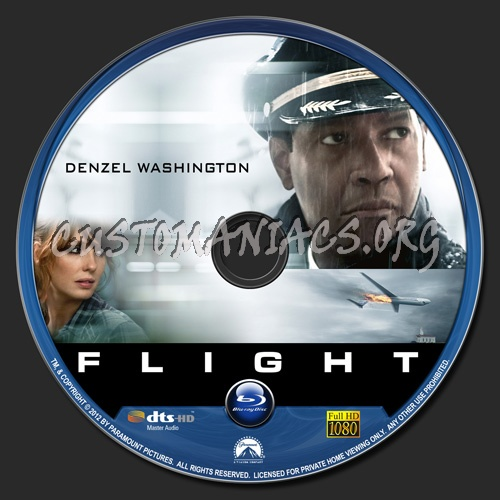 Flight blu-ray label