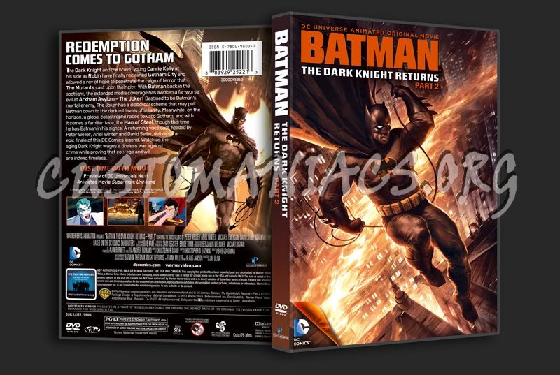 Batman The Dark Knight Returns Part 2 dvd cover