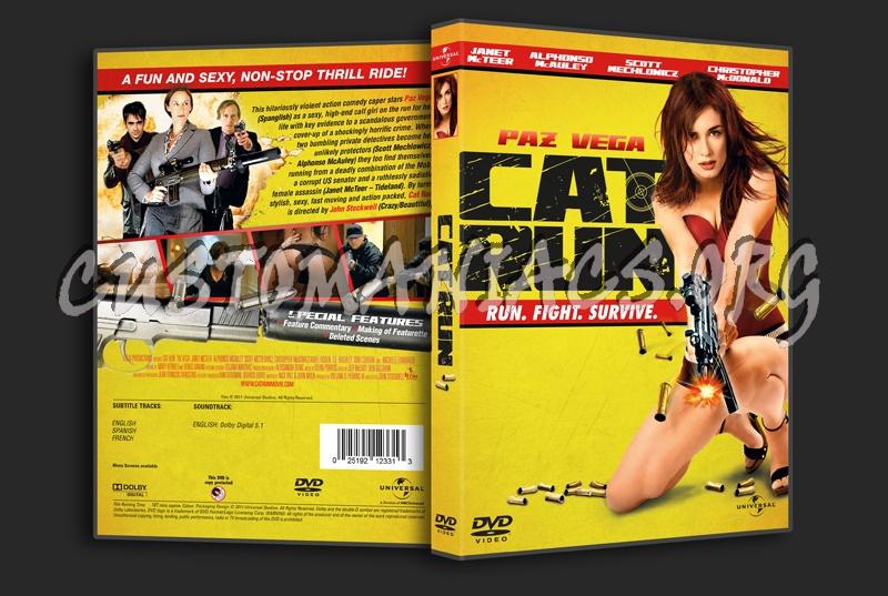 Cat Run dvd cover