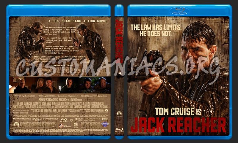 Jack Reacher blu-ray cover