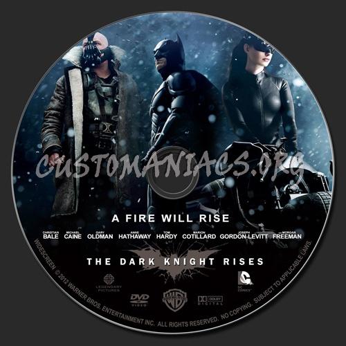 Dark Knight Rises Dvd Cover Batman The Dark Knight Rises