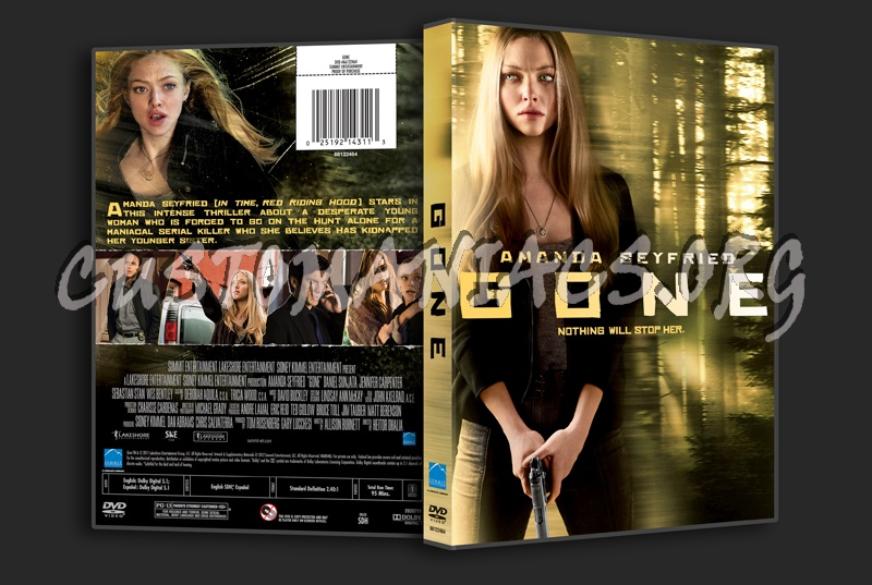 Gone dvd cover