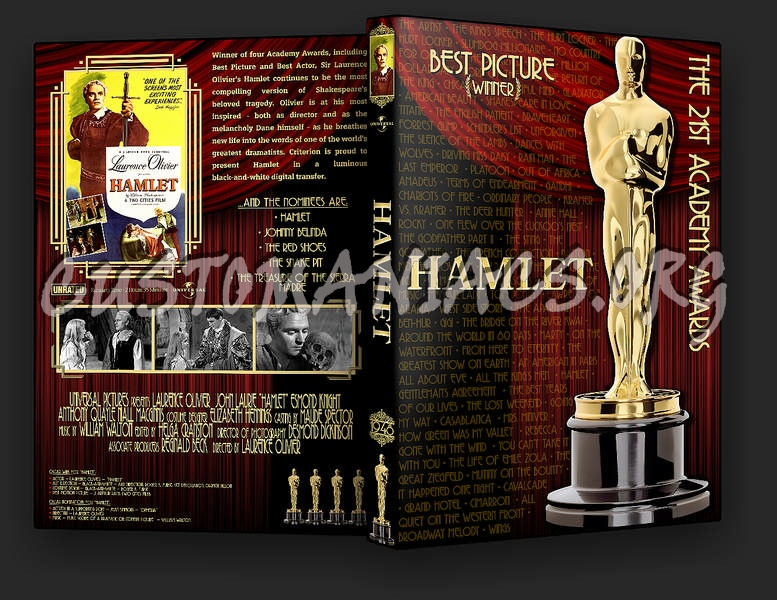 Hamlet dvd cover