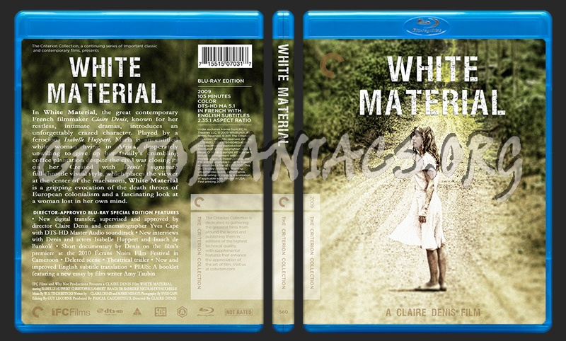 560 - White Material blu-ray cover